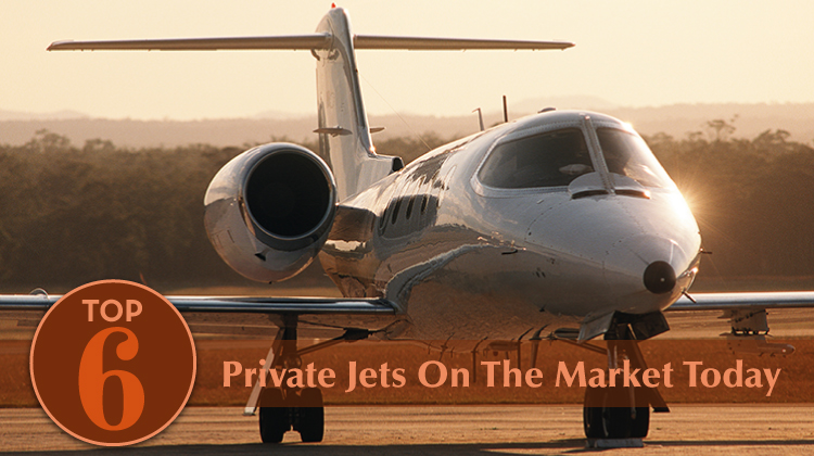 Top 6 Private Jets For Sale