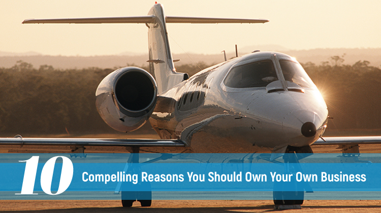 10 Compelling Reasons To Start Your Own Private Jet Business