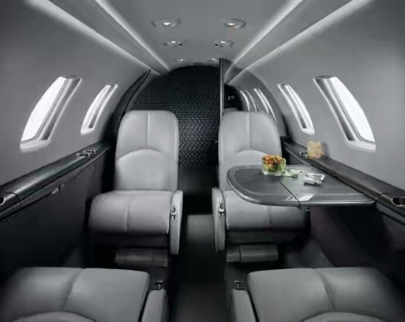 Cessna CJ1's interior