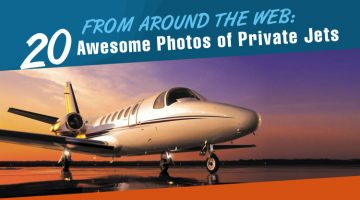 From Around the Web: 20 Awesome Photos of Private Jets