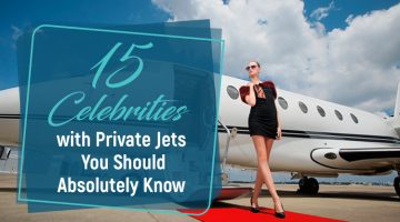 15 Celebrities and Their Private Jets