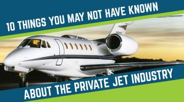 10 Things You May Not Have Known About the Private Jet Industry
