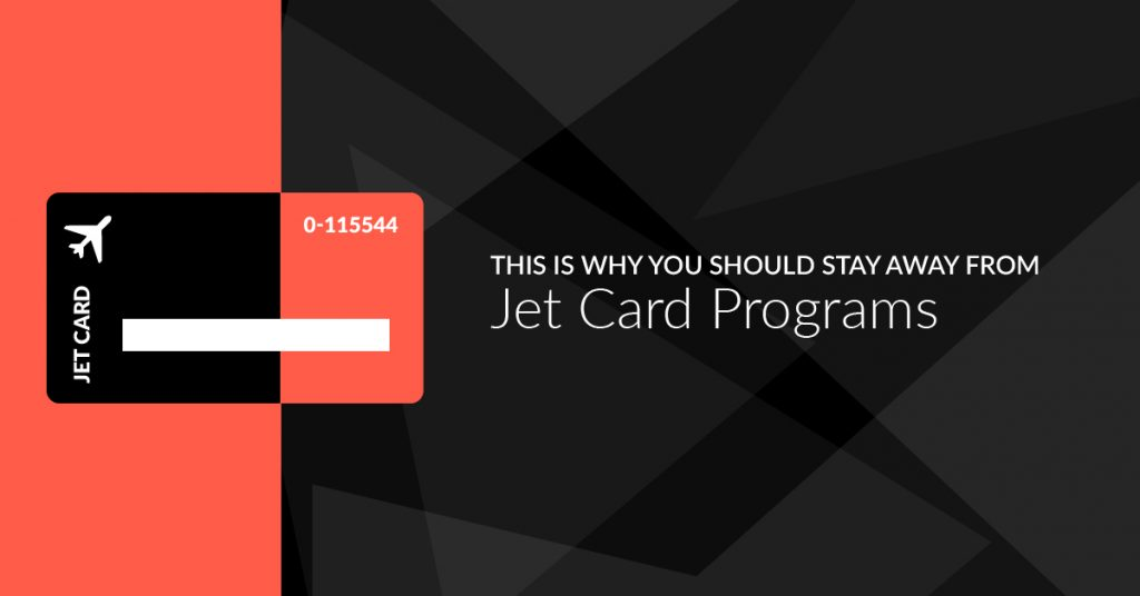 This Is Why You Should Stay Away From Private Jet Card Programs