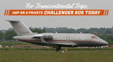 Private Bombardier Challenger 605