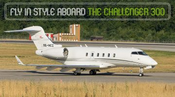 Private Bombardier Challenger 300