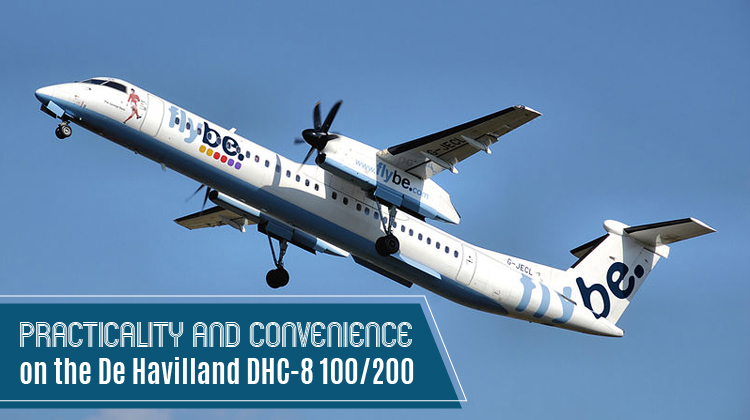 Private De Havilland DHC-8 100/200