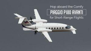 Private Piaggio P180 Avanti