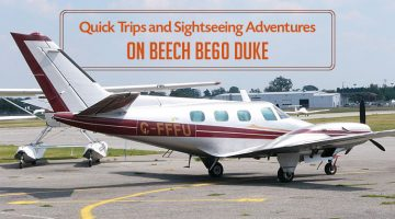 Private Beech BE60 Duke