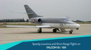 Private Dassault Falcon 10 / 100