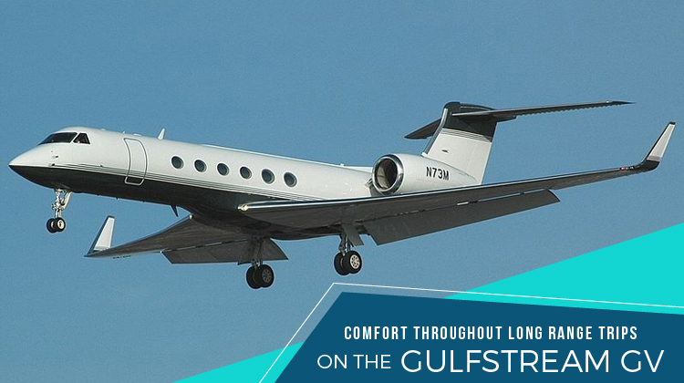 Private Gulfstream GV,