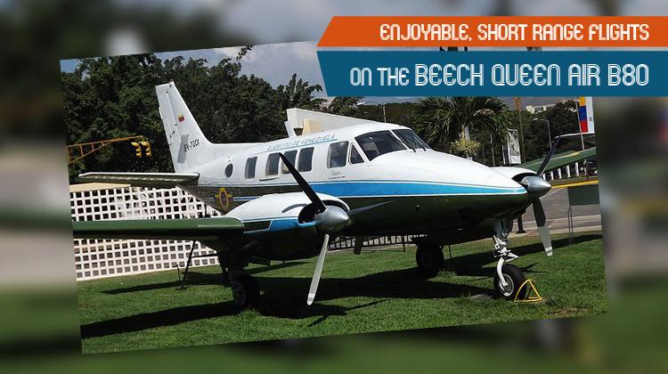 Private Queen Air B80