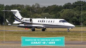 Private Learjet 40 / 40XR