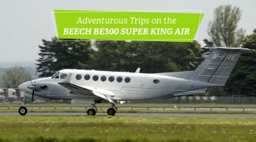 Private Beech BE300 Super King Air