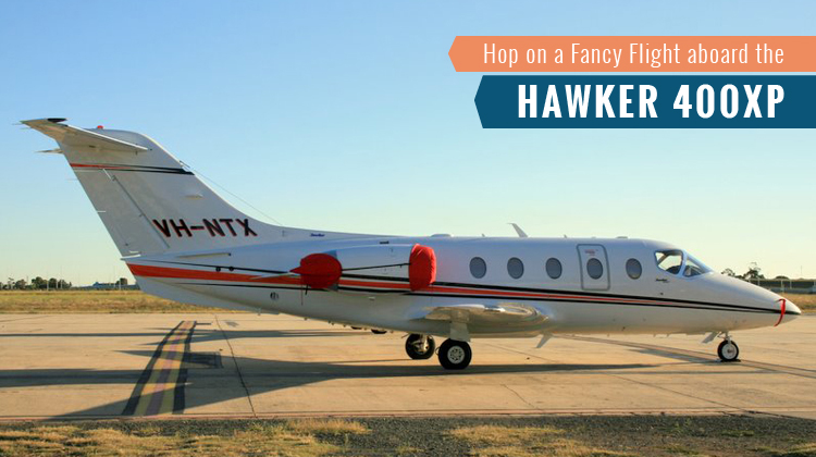Private Hawker 400XP