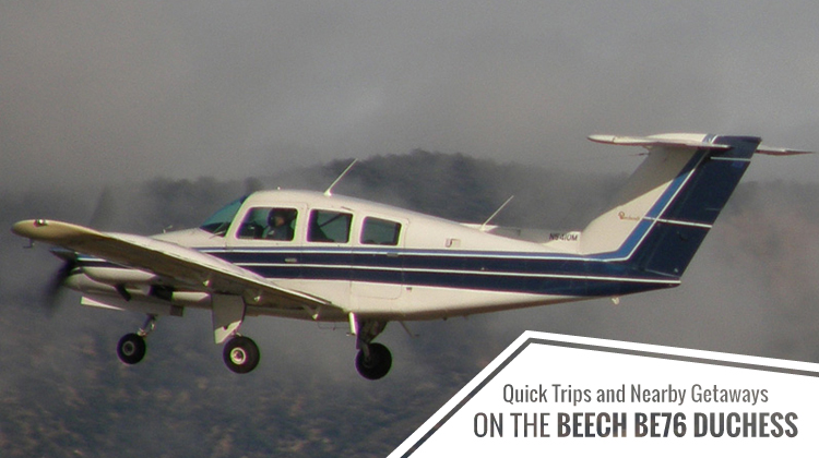 Private Beech BE76 Duchess