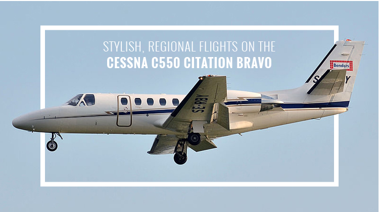 Private Cessna C550 Citation Bravo