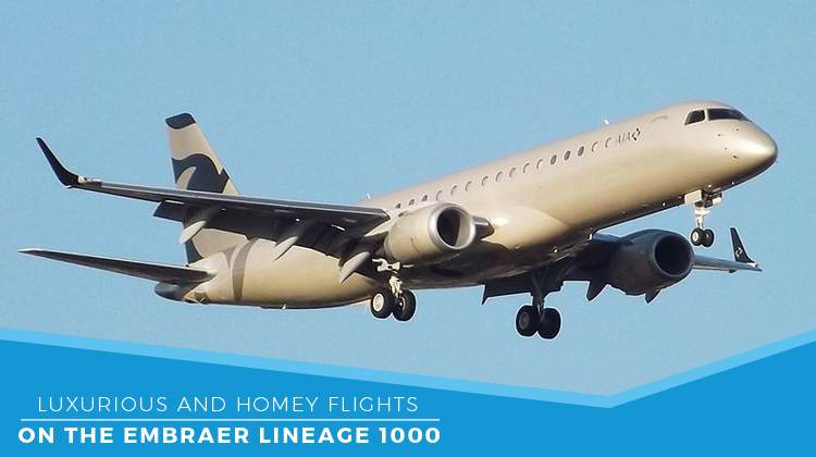 Private Embraer Lineage 1000
