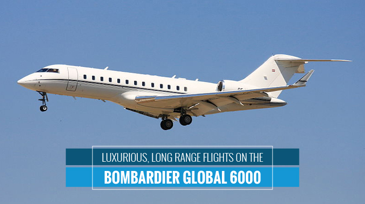 Private Bombardier Global 6000