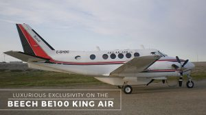 Private Beech BE100 King Air