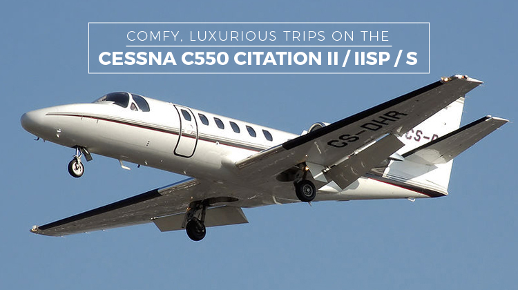 Private Cessna C550 Citation II / IISP / S,