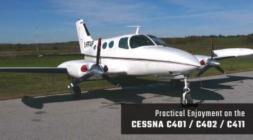 Private Cessna C401 / C402 / C411
