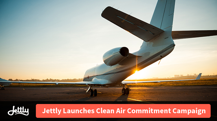 Jettly Launches Clean Air Commitment Campaign