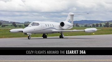 Private Learjet 36A