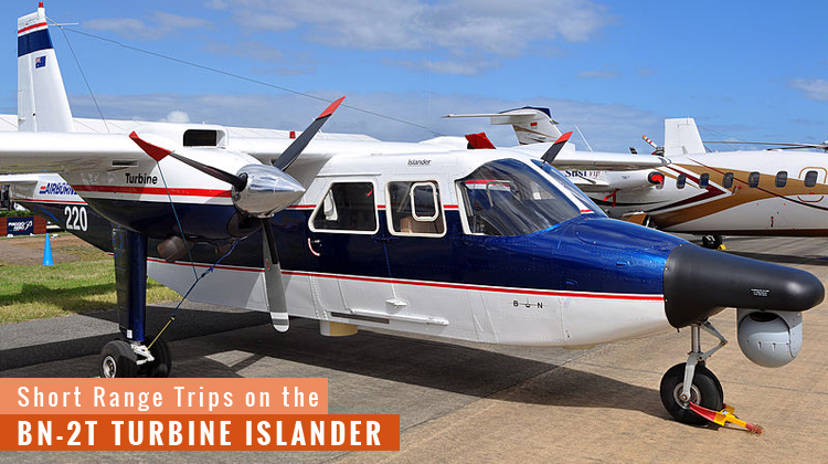 Private BN-2T Turbine Islander