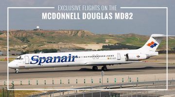 Private McDonnell Douglas MD82