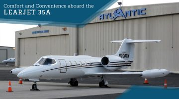 Private Learjet 35A