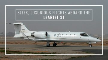 Private Learjet 31