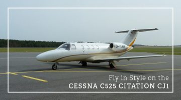 Private Cessna C525 Citation CJ1
