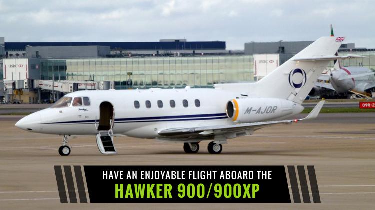 Private Hawker 900/900XP