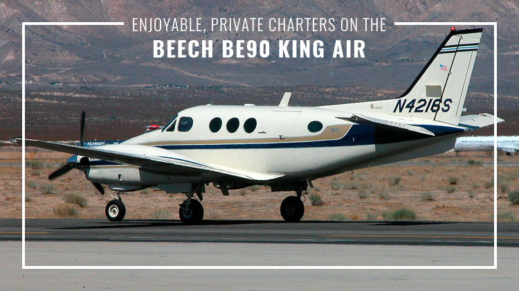 Private Beech BE90 King Air