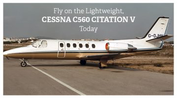 Private Cessna C560 Citation V