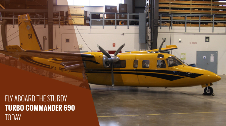 Private Turbo Commander 690