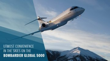 Private Bombardier Global 5000
