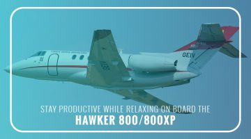 Private Hawker 800/800XP
