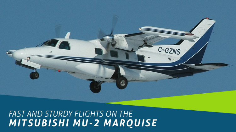 Private Mitsubishi MU-2 Marquise