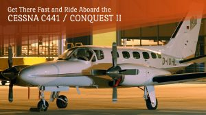 Private Cessna C441 Conquest II