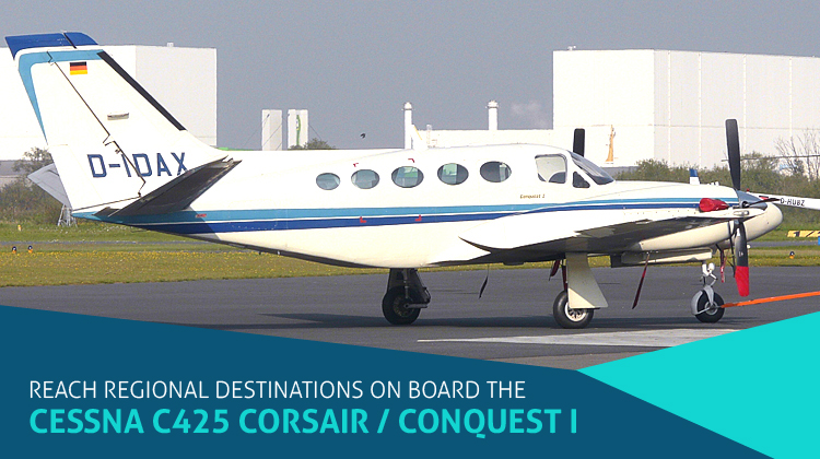 Private Cessna C425 Corsair / Conquest I