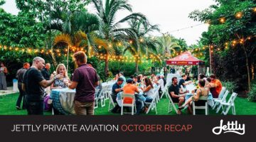 Jettly Private Aviation October Recap