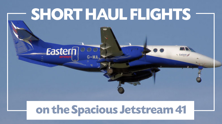 Short Haul Flights On The Spacious Jetstream 41  Jettly Private Jet Charter